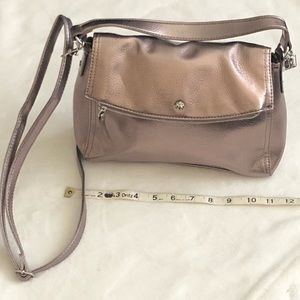 Handbags - Shoulder Bag Rose Pewter Color